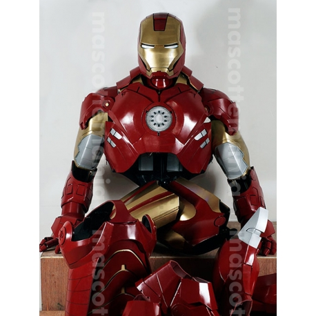 Mascot Costume Iron man Mark 4 - Super Deluxe