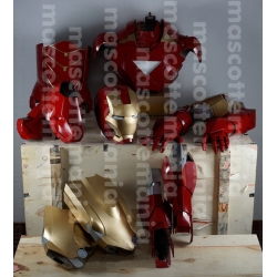 Mascot Costume Iron man Mark 6 - Super Deluxe