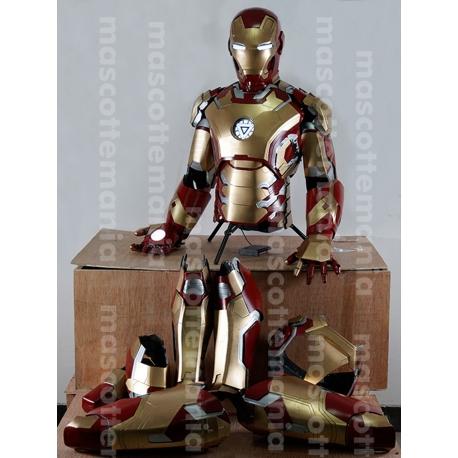 Mascot Costume Iron man Mark 42 - Super Deluxe