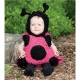 Mascot Costume Lady Bug Pink
