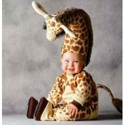 Mascot Costume Giraffe