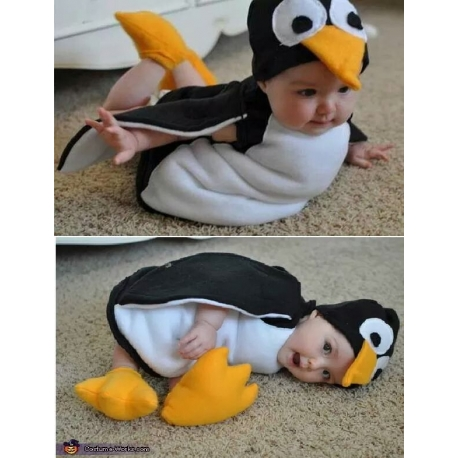 Mascot Costume Penguin