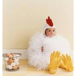 Mascot Costume Baby Chicken