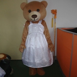 Mascot Costume Little She Bear