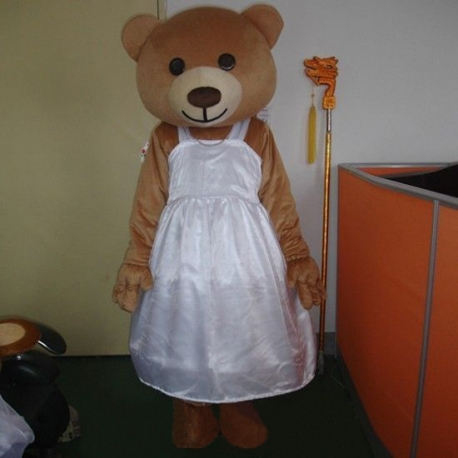 Mascot Costume Little She Bear