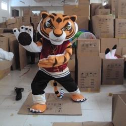 Mascot Costume Tiger - Kung fu panda