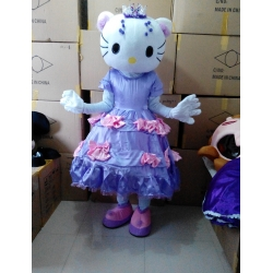 Mascotte Hello Kitty Principessa