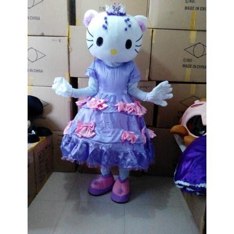 Mascotte Hello Kitty Principessa