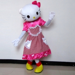 Mascot Costume Hello Kitty heart