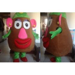 Mascot Costume Mrs Potato