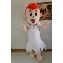 Mascot Costume Wilma Flinstone