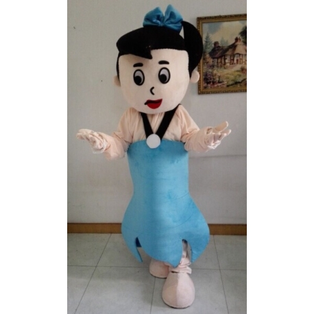 Mascot Costume Betty Barney