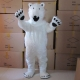 Mascot Costume White Bear