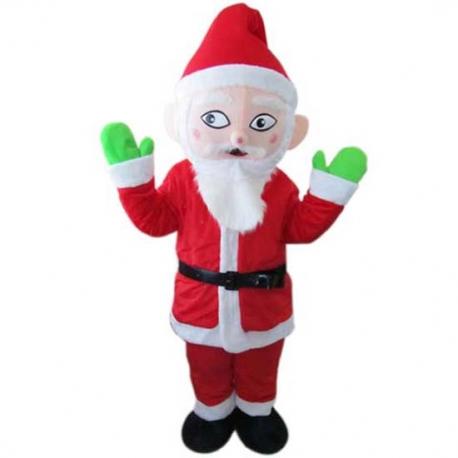 Mascotte Babbo Natale