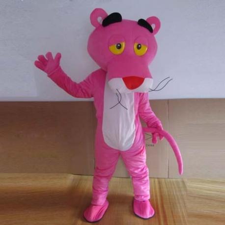 Mascot Costume Pink Panther