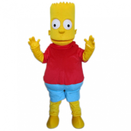 Mascot Costume Bart Simpson
