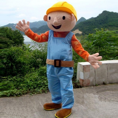 Mascot Costume Bob The Builder