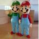 Mascot Costume Mario and Luigi