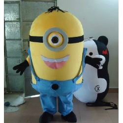 Mascot Costume Minion 1 eye - Desplicable me