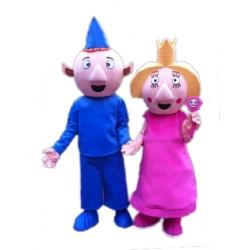 Mascotte Ben e Holly