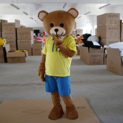 Mascot Costume Teddy Bear