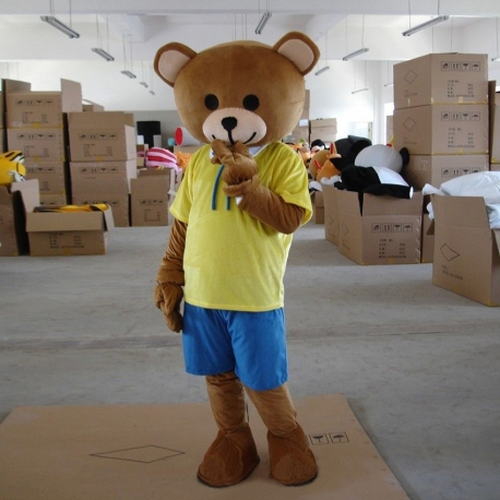 Mascotte Orso Ted