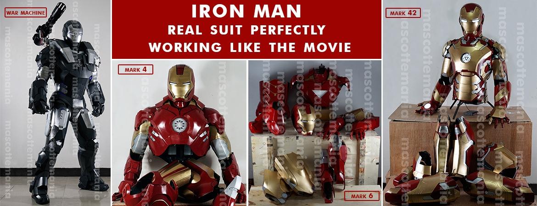 Mascot Iron Man