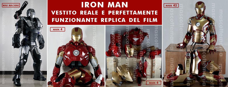 Mascotte Iron Man